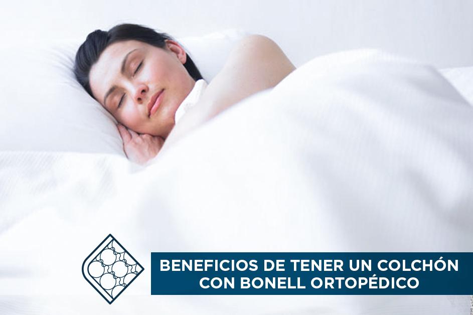 Beneficios de tener un colchón con bonell ortopédico