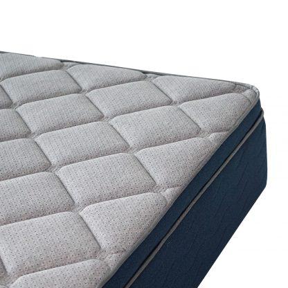 colchón top hotel pocket encapsulado detalle cubierta