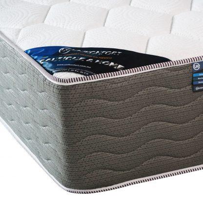 colchón vertebral confort detalle esquina