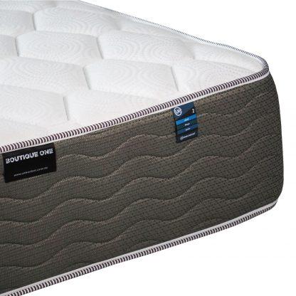 colchón vertebral confort detalle fuelle